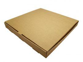 Pizza doboz, 40,6*40,6 cm, lebomló  | nettó 276,00 Ft/db