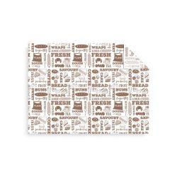 Lebomló fehér zsírpapír, Bakery | nettó 16,50 Ft/db