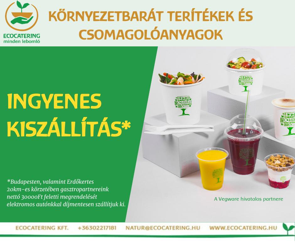 Ingyenes kiszállítás Budapesten és Erdőkertes 20km-es körzetében
